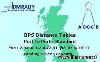 BP DISTANCE TABLES PORT TO PORT PRO V 2 0